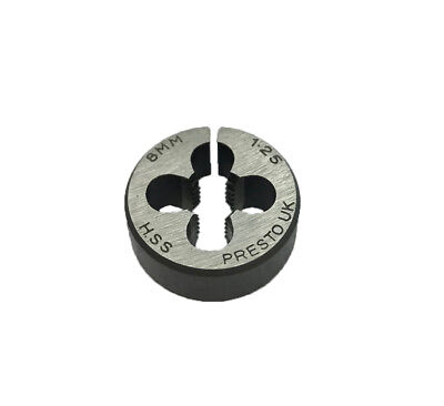 Rdg New Presto Hss Split Die M8 X 1.25 Circular Threading Die Metric