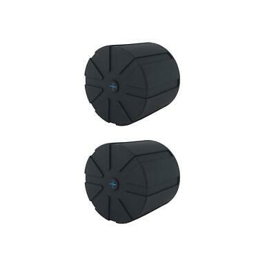 Kuvrd 2 Pack Rubber Universal Lens Cap for 60mm-120mm Lenses #ULC 2