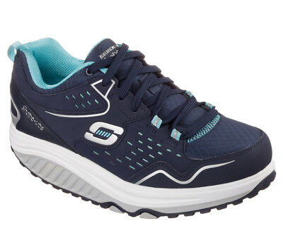 NEU SKECHERS Damen Sneakers Memory Foam SHAPE-UPS 2.0-EVERYDAY COMFOR Blau