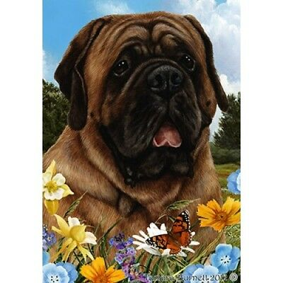 Garden Indoor/Outdoor Summer Flag - Red Mastiff 182761