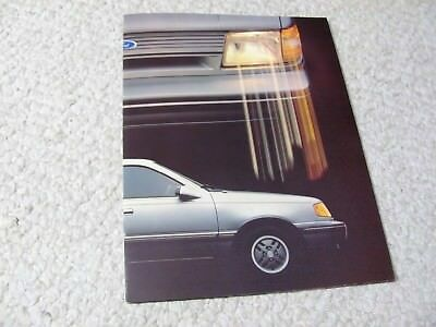 1986 MEXICAN FORD TOPAZ SALES BROCHURE...rare..