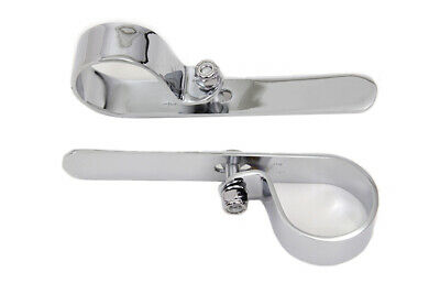 Chrome 1-3/4  Exhaust  P  Clamp Set,for Harley Davidson motorcycles