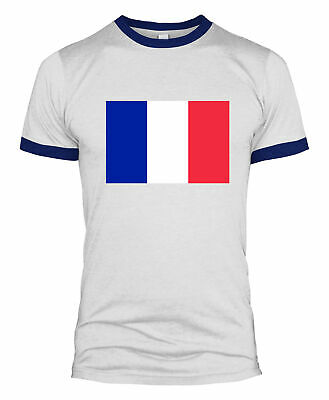 France Flag T Shirt French Football Top Country World Cup Men Women Kid L254
