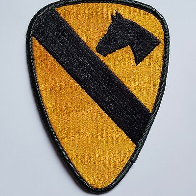 U.s. Army Uniform Aufnäher Patch 1St Cavalry Division Full Color Original