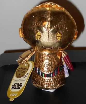 Hallmark Itty Bitty Bittys ~ C-3PO RED ARM LE (Star Wars: The Force Awakens) NWT