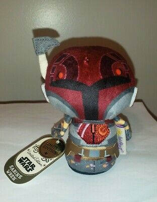 Hallmark Itty Bitty Bittys ~ SABINE WREN Ltd. Edit. (Star Wars Rebels) NWT Plush