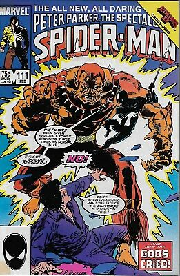 Peter Parker, The Spectacular Spider-Man No.111 / 1986 Secret Wars II