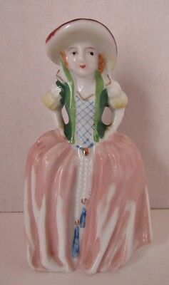 """Darling Maid in 18th Century French Costume 5"""" Figurine Occupied Japan"""