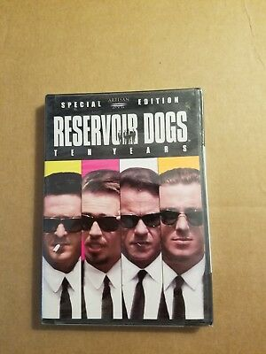 Reservoir Dogs (DVD, 2003, 10th Anniversary Edition - Generic Cover) READ NOTE!!