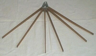 "Excellent 18"" Antique Cherry Wood Fan Dryer"