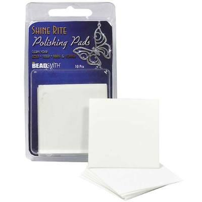 Shine Rite Jewelry Polishing Pads 2 X 2Inches (10 Pads)