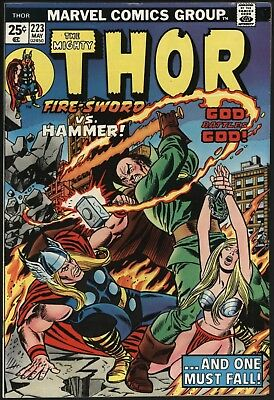Thor #223 Vs Pluto Plus Hercules. Nice Glossy Cents Non Distributed In The Uk