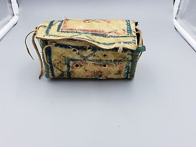 Native American 19th Century Parflèche Box