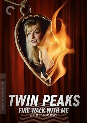 Twin Peaks Fire Walk With Me Criterion Collection Region 1 New DVD