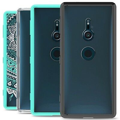 CoverON for Sony Xperia XZ2 Case Slim Hybrid Hard Shockproof Phone Cover
