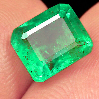 1.7CT 100% Natural Museum Grade Green Emerald Collection QMD3368