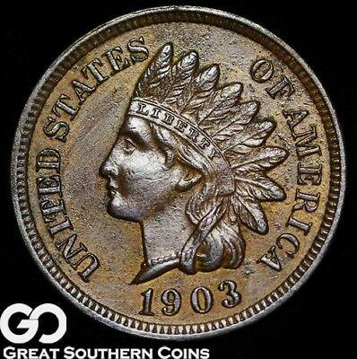 1903 Indian Head Penny, Sharp