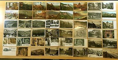 Big Lot of 97 Antique & Vintage Postcards ALL HEIDELBERG, GERMANY 1906-1950's