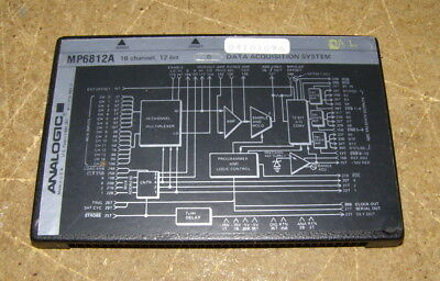 Analogic MP6812a Data Acquisition System 16 Channel 12 Bit