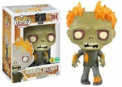 SDCC 2016 Exclusive Funko Pop The Walking Dead Burning Walker Limited Edition !!