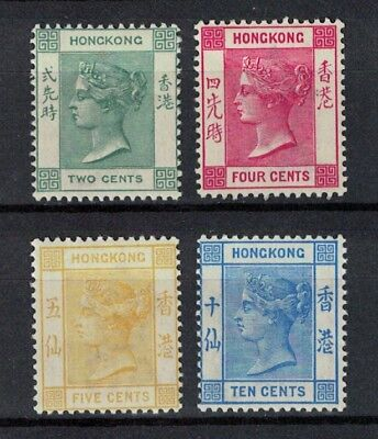 hong kong stamps - victoria 1900 issues MINT NO HINGE - fresh cat val $160 sg56>