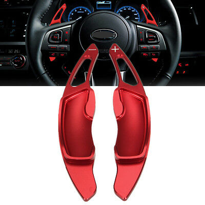 Red Steering Wheel DGS Shift Paddle Extension Fit Subaru BRZ WRX Forester 86 FRS