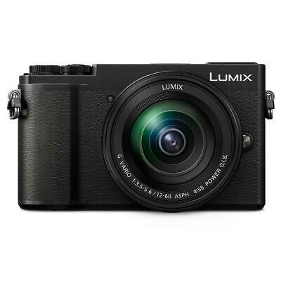 Panasonic Lumix DC-GX9 20.3MP Mirrorless Digital Camera with 12-60mm Lens, Black