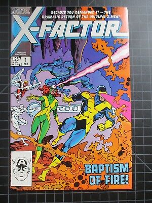 Marvel X-Factor #1 Beautiful Vf Copy 1986