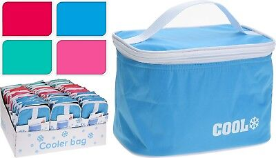 4L Cool Bag Insulated Sandwich Bag Packed Lunch Bag School Beach Picnic BBQ