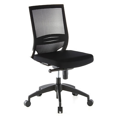 Office Chair / Executive Chair PORTO ECO Fabric Seat / Mesh Backrest hjh OFFICE