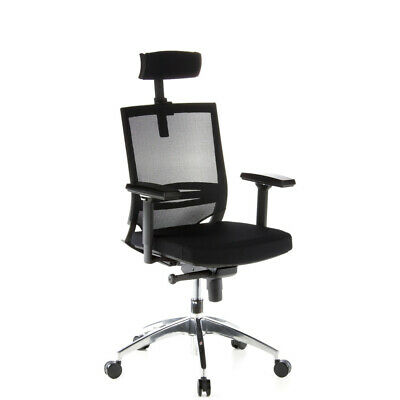 Office Chair / Executive Chair PORTO MAX Fabric Seat / Mesh Backrest hjh OFFICE