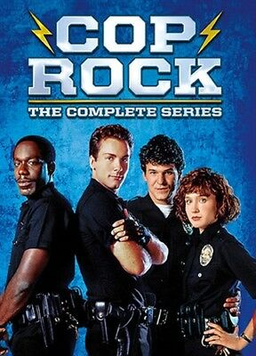 COP ROCK COMPLETE SERIES New Sealed 3 DVD Set All 11 Episodes