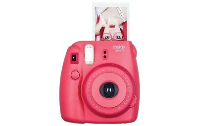 Fujifilm Instax Mini 8 Instant Film Camera Raspberry 16443917 MINI8RASP