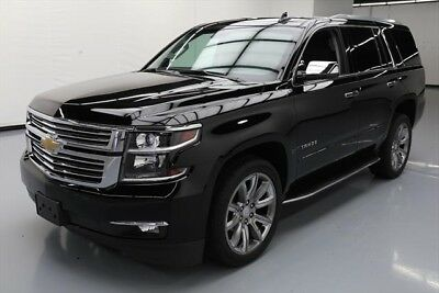 Chevrolet Tahoe Premier Texas Direct Auto 2017 Premier Used 5.3L V8 16V Automatic 4X4 SUV Moonroof Bose