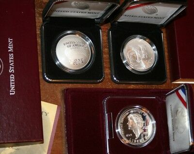 US Mint 2014 Baseball Girl Scout Jefferson Silver Dollars BU Proof Sets Coins
