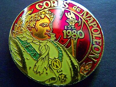 1983 Corps de Napoleon Multi-Color Mardi Gras Doubloon-Double Crested