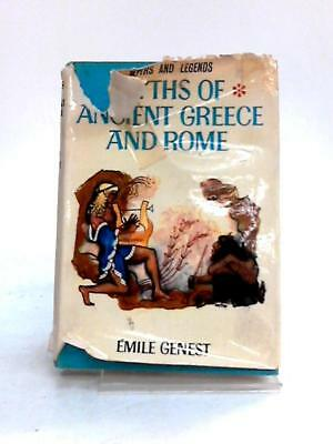 Myths of Ancient Greece and Rome Emile Genest 1965 Book 14106