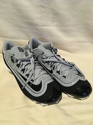 new arrivals af6b4 39166 Nike 2Kfilth Huarache Baseball Shoes Cleats Mens Size 12 Gray Pro Low  807131-010