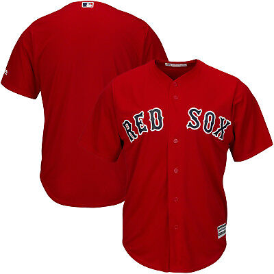 1f5d15f970a Boston Red Sox Cool Base Jersey 6XL Home Red Plus Sizes Big   Tall Majestic  MLB