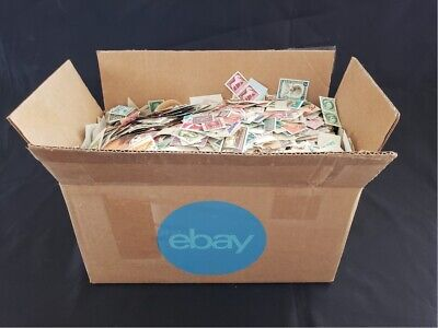 ✯ 2 OUNCES Mixed US & World Stamps from Huge Box Hoard ✯Mint Used BOB Old Stamps