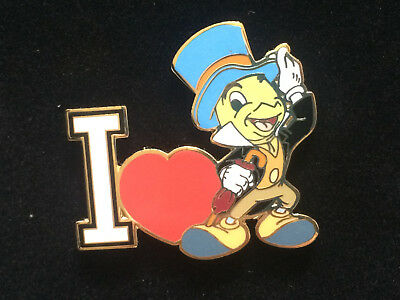 Disney DisneyShopping.com - I Love Jiminy Cricket Heart Pin LE 500
