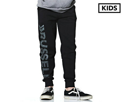 Russell Athletic Boys' Rival Fleece Pant - Black