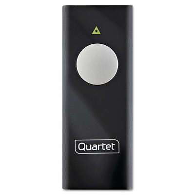 Quartet® Slimline Laser Pointer, Class 2, Projects 655 ft, Black 034138845011