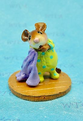 OFF TO DREAMLAND by Wee Forest Folk, M-555 Mouse Expo Gift Piece