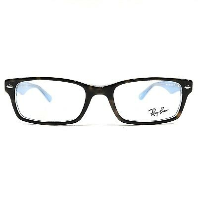 d2a8fef3fa New Ray Ban Women s Eyeglasses RX Frame RB 5206 5023 Tortoise Blue 52-18-