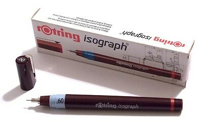 ROTRING ISOGRAPH TECHNICAL DRAWING PENNA A CHINA - 0,60 mm - ART. 151 060