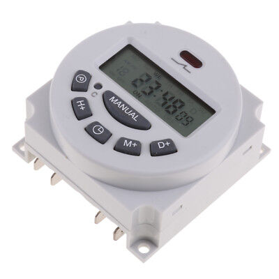 220V AC Digital LCD Time Switch Programmable Power Electronic Timer