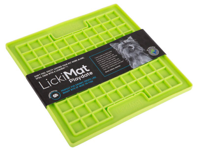 Lickimat Playdate Treat Mat for Dogs, Cats & Puppies Boredom Buster Feeder Toy