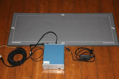 RSscan Advanced Footscan 2D 1m Plate Interface Box Scan Fußscanner Orthomedical