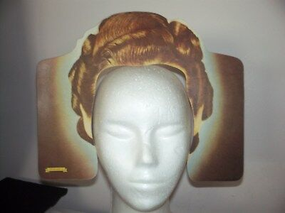 Vintage Paper Cutouts Hair Styles From 30's-Advertising For Fitch Shampoo